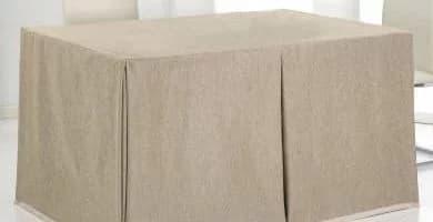 tipos de mesa camilla rectangular